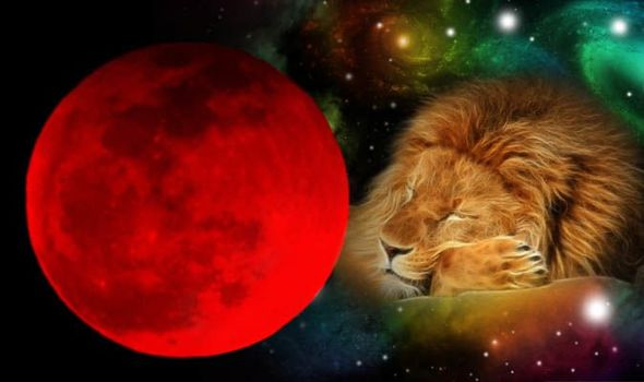 blood moon eclipse leo - photo #22